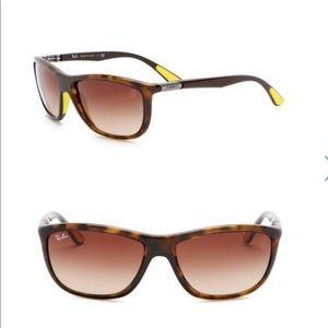 Ray-Ban 60mm Ferrari Square Sunglasses